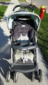 Stroller, Bouncer and smile and ride buggy ... lots of baby item