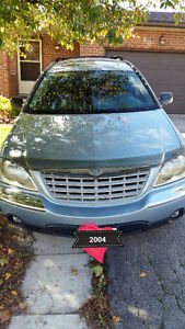 2004 Chrysler Pacifica Black SUV, Crossover