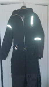 heavy duty one piece snow suit