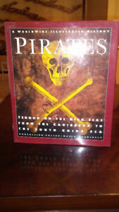 Pirates a woldwide illustrated history . livre de  collection