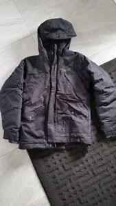 Black Columbia winter jacket size 8 (s) London Ontario image 1
