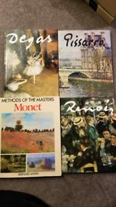 Degas, Pissarro, Monet, Renoir