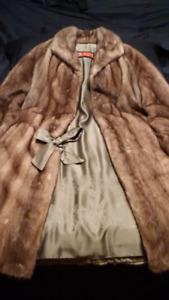 Manteau de fourrure (vison)