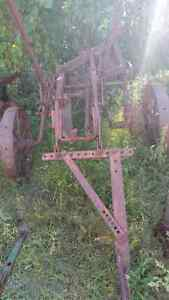 Antique Case Plow