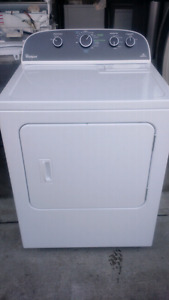 Whirlpool dryer electric.