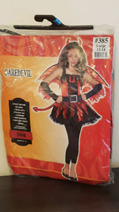 Dare devil girls costume.