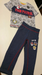2T Paw Patrol set...BRAND NEW WITH TAGS