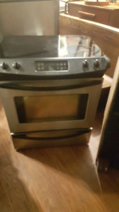 Stainless steel oven . Self cleaning $400