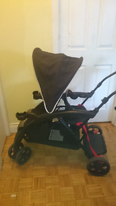 Safety first sit and stand stroller for sale