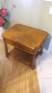 Solid wood table 28x24x22high