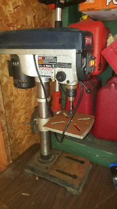 Reduced Ryobi  drill press  slightly used