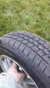 Acura tire on rim