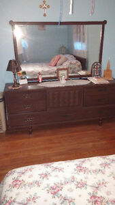 Antique style dresser and mirror & matching tall dresser Sarnia Sarnia Area image 1