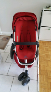 Quinny buzz extra steroller with maxi cosi