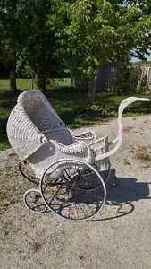 Baby Pram - Authentic Antique in Good Condition