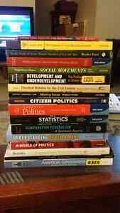 WLU/UW POLITICAL SCIENCE TEXT BOOKS