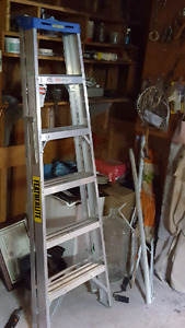 Feather Lite alluminum step ladder