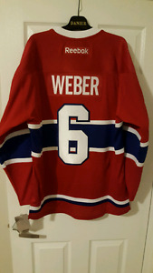 Officially Licenced Montreal Canadiens Shea Weber Home Jersey
