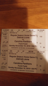 Panthers vs Lions