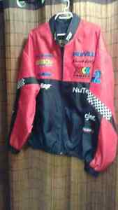 BRAND NEW MENS 2XL RACEING JACKET ( WOULD MAKE A GREAT XMAS GIFT