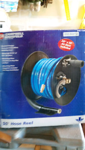 50 ft hose and reel