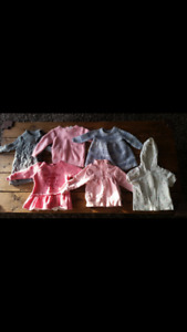 Baby Girl clothes 6-12 & 12 months