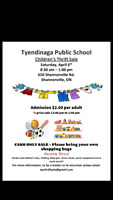 Children's Thrift Sale-Vendors Wanted