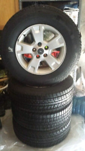 SNOW TIRES & RIMS
