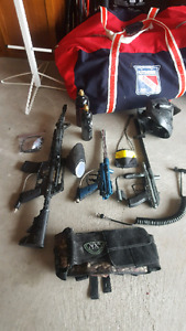 Paintball Equipment and Accessories