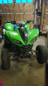 Looking to trade for a 4x4 atv