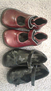 Girl shoes size 6 $2 for both