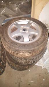 Volkswagen wheel 4x100 15po