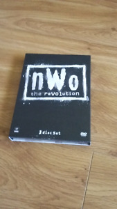 Wrestling dvd nwo 3 disc set