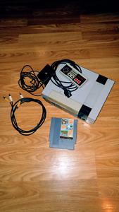 Console Nintendo NES originale avec super Mario Bros
