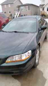 1999 honda accord ex 2 door v6