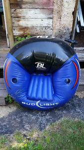 Bud Light Inflatable Chair and Beach mat for sale
