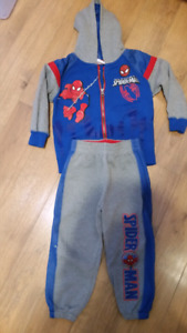 2 pc spiderman size t3