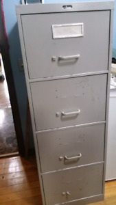 4 drawer ALL STEEL cabinets