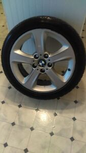 BMW Rims with Winter Tires West Island Greater Montréal image 1