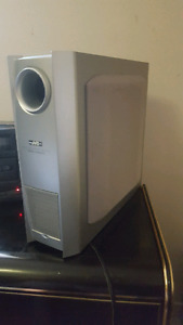 4 SALE A  JVC  POWERED SUBWOOFER FOR HOUSE STEREO