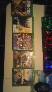 $20-$25/Xbox one Game (5 Games)