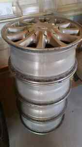 Wheel Rims  .. Set of Four .. $50 Firm