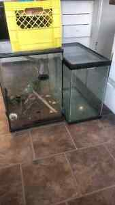 Fish tank and terrarium combo Prince George British Columbia image 3