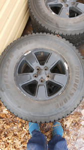 Jeep wheels 5x114.3 with tires