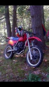 XR 350 project