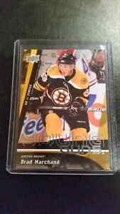 Brad Marchand Young Guns Rookie Card Hockey Card
