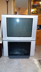"Free Sony WEGA 32"" TV with matching stand"