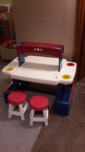 sold - Kids activity craft Table and Chairs