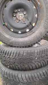 USED TIRES AND RIMS 6 MONTHS OLD  GENERAL  ARCTIC  ICE