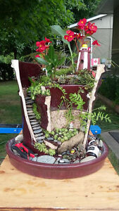 Wanted broken or cracked ceramic planters for fairy gardens